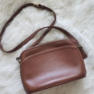 Vintage Women's Coach Leather Crossbody No K